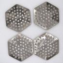 Hexagonal sieve (1950s) 2.2cm Silver M42