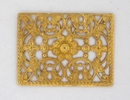 Filigree Rectangle disc (1950s) 3.4cm Gold M47