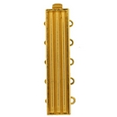 Claspgarten Gold clasp with 5 rows for use with Delicas 14843 - 33x7mm
