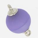 Claspgarten Matt Light Lila magnetic round clasp 14844-011 - 12mm