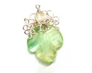 Bead Magazine's Twisted Vines Earring bead kit