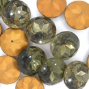 18mm Smoky Quartz Cabochon (Vintage) Cab106