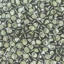 50 x Green Lustre Pinch beads