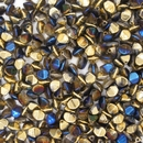 50 x pinch beads in California Blue (3x5mm)
