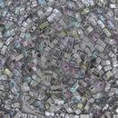 5g Silver Rainbow Half Tila Beads HTL55017