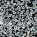25 x Button beads in Crystal AB