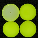 Cab116 - 24mm cabochon in Bright Yellow
