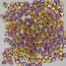 Dragon Scale beads in California Pink