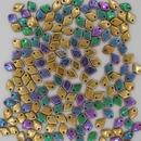 5g Dragon Scale beads in California Green