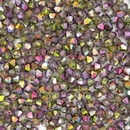 25 x 4mm Magic Orchid bicones (Czech)