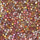 25 x 4mm Magic Wine bicones (Czech)