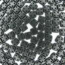 50 x Metallic Suede Dark Forest QuadraTiles