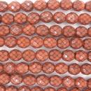 8mm string of snake skin beads in 39053