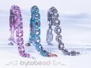 Tiny Buttons bracelet by Sabine Lippert