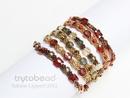 Mingles bracelet pattern by Sabine Lippert