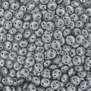25 x CzechMate lentils in Pearl Coat Silver