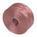 S-Lon D Beading Thread in Pink