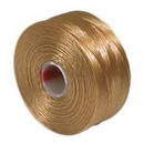 S-Lon D Beading Thread in Light Brown