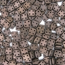 50 x CzechMate QuadraTiles in Matt Dark Bronze