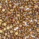 25 x button beads in Metallic Mix