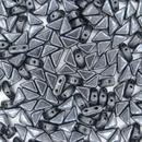 Two hole Gunmetal Tango beads