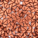 Two hole Copper Tango beads