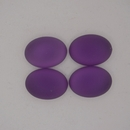 18.5x13.5mm Luna Soft Oval Cabochon in Amethyst