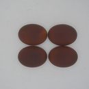 18.5x13.5mm Luna Soft Oval Cabochon in Copper