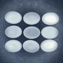 18.5x13.5mm Luna Soft Oval Cabochon in Crystal