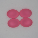 18.5x13.5mm Luna Soft Oval Cabochon in Salmon Pink