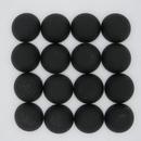 12mm Luna Soft Cabochon in Black