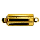 Claspgarten Gold clasp with 1 row 12659 - 12x5mm