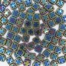 50 x Green Iris QuadraTiles