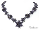Purple Passion Necklace by Stefanie Deddo-Evans