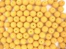 8mm round Orange beads (1980s)