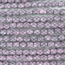 25 x 6mm snake skin beads in 39059