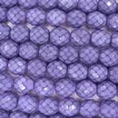 15 x 10mm snake skin beads in Dark Orchid