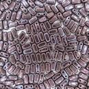 Metallic Amethyst Lustre two hole Bricks