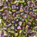 10 x 6mm pyramids in Magic Orchid