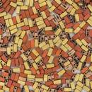 5g Half Tila beads in Matt California Gold Rush (HTL55046)