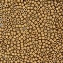 5g Size 8/0 Matt Metallic Flax Matubo seed beads