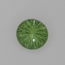 15mm German cabochon in Peridot