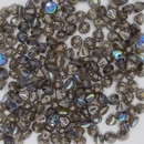 25 x Button beads in Graphite Rainbow
