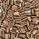 5x8mm Bronze Roofy beads