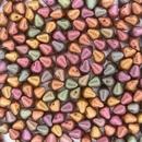 Spiky button beads in Purple Iris Gold