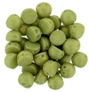 10 x Pacifica Avocado two hole Cabochons