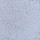 Size 11 White Ceylon Miyuki seed beads 528