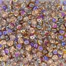 4mm Es-o beads in Crystal Sliperit