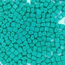 5mm Green Turquoise Silky beads