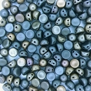 10 x CzechMate cabochons in Matt Metallic Leather